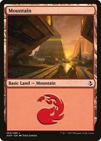 Mountain (265), Magic: The Gathering, Amonkhet