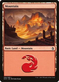 Mountain (266), Magic: The Gathering, Amonkhet