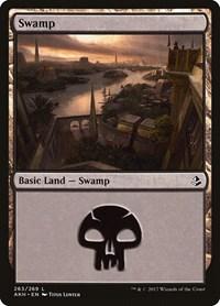 Swamp (263), Magic: The Gathering, Amonkhet
