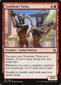 Trueheart Twins, Magic: The Gathering, Amonkhet