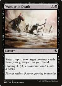 Wander in Death, Magic, Amonkhet
