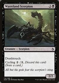 Wasteland Scorpion, Magic: The Gathering, Amonkhet