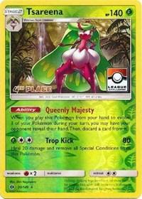 Tsareena - 20/149 (League Promo) [4th Place], Pokemon, League & Championship Cards