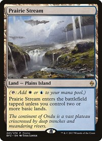 Prairie Stream, Magic: The Gathering, Standard Showdown Promos