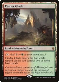 Cinder Glade, Magic: The Gathering, Standard Showdown Promos