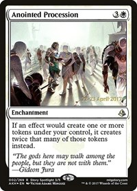 Anointed Procession (Foil)