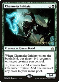 Channeler Initiate, Magic, Prerelease Cards