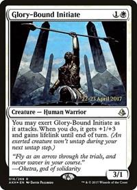 Glory-Bound Initiate, Magic, Prerelease Cards