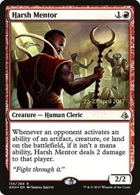 Harsh Mentor, Magic, Prerelease Cards