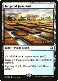 Irrigated Farmland, Magic: The Gathering, Prerelease Cards