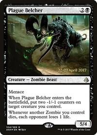 Plague Belcher, Magic: The Gathering, Prerelease Cards