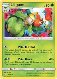 Lilligant, Pokemon, SM - Guardians Rising