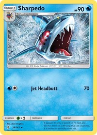 Sharpedo, Pokemon, SM - Guardians Rising