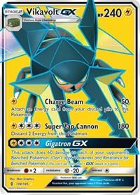 Vikavolt GX (Full Art), Pokemon, SM - Guardians Rising