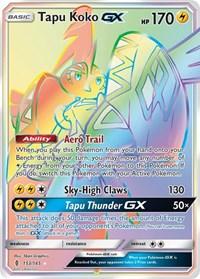 Tapu Koko GX (Secret), Pokemon, SM - Guardians Rising