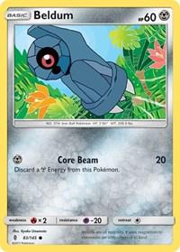 Beldum, Pokemon, SM - Guardians Rising