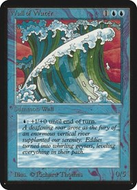 Wall of Water, Magic: The Gathering, Alpha Edition