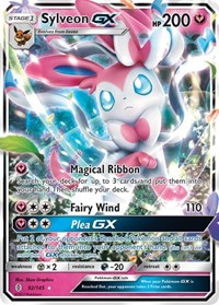 Sylveon GX, Pokemon, SM - Guardians Rising