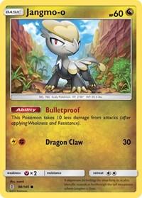 Jangmo-o, Pokemon, SM - Guardians Rising