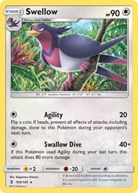 Swellow, Pokemon, SM - Guardians Rising