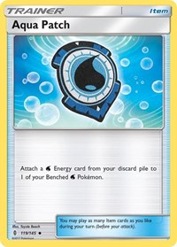 Aqua Patch, Pokemon, SM - Guardians Rising