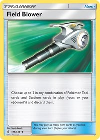 Field Blower, Pokemon, SM - Guardians Rising