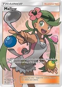 Mallow (Full Art), Pokemon, SM - Guardians Rising