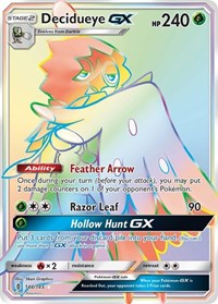 Decidueye GX (Secret), Pokemon, SM - Guardians Rising