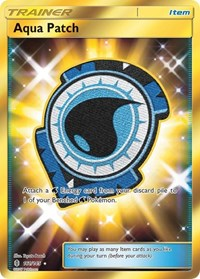 Aqua Patch (Secret), Pokemon, SM - Guardians Rising
