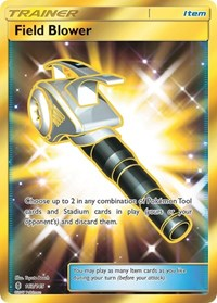 Field Blower (Secret), Pokemon, SM - Guardians Rising