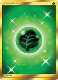Grass Energy (Secret), Pokemon, SM - Guardians Rising