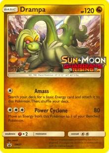 Drampa - SM21 - Staff Prerelease Promo, Pokemon, SM Promos