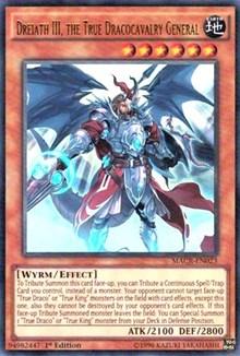 Dreiath III, the True Dracocavalry General, YuGiOh, Maximum Crisis