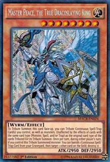 Master Peace, the True Dracoslaying King, YuGiOh, Maximum Crisis