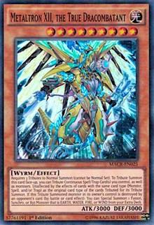 Metaltron XII, the True Dracombatant, YuGiOh, Maximum Crisis