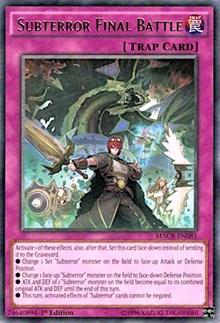 Subterror Final Battle, YuGiOh, Maximum Crisis