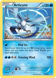Articuno (XY Roaring Skies), Pokemon, Deck Exclusives