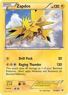 Zapdos (XY Roaring Skies), Pokemon, Deck Exclusives