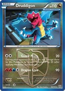 Druddigon (BW Plasma Storm), Pokemon, Deck Exclusives