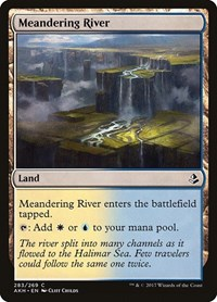 Meandering River, Magic: The Gathering, Amonkhet