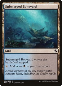 Submerged Boneyard, Magic: The Gathering, Amonkhet