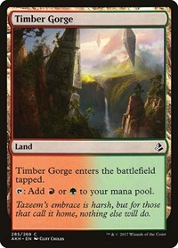 Timber Gorge, Magic: The Gathering, Amonkhet