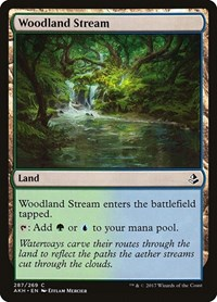 Woodland Stream, Magic, Amonkhet