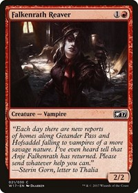Falkenrath Reaver, Magic: The Gathering, Welcome Deck 2017