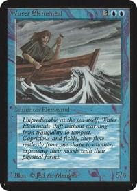 Water Elemental, Magic, Alpha Edition