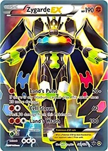 Zygarde EX - 54a/124, Pokemon, Alternate Art Promos