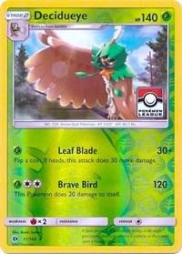 Decidueye - 11/149 (League Promo), Pokemon, League & Championship Cards