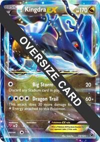 Kingdra EX - 73 (Fates Collide), Pokemon, Jumbo Cards