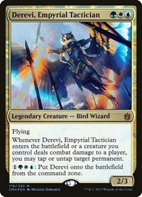 Derevi, Empyrial Tactician, Magic: The Gathering, Commander Anthology