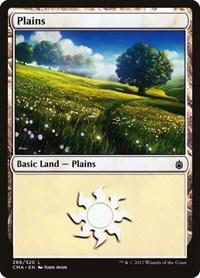Plains (286), Magic: The Gathering, Commander Anthology